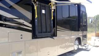 Wheel chair lift installed by RV Decor