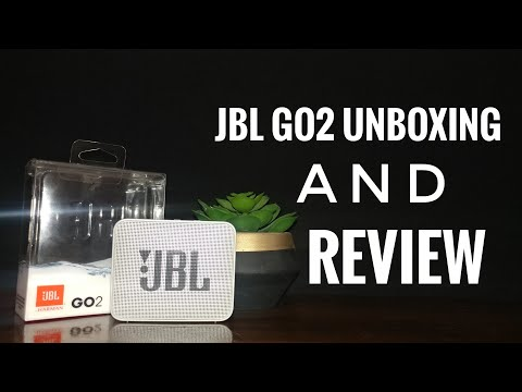 JBL GO2 Unboxing And Review TAGALOG