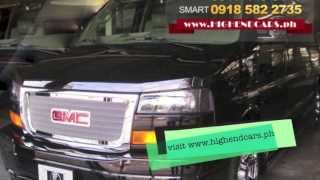 2013 GMC SAVANA LIMOUSINE VIP PHILIPPINES WWW.HIGHENDCARS.PH