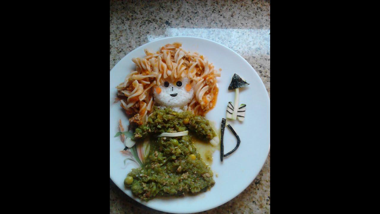 Almuerzo saludable y creativo princesa m rida youtube - Almuerzo rapido y facil ...