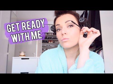 Get ready with me en mijn rollers ❤ Gewone dag | Beautygloss
