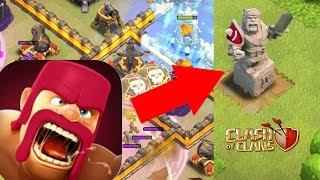 NEW RED Mighty HERO Statue! Clash of Clans Update!