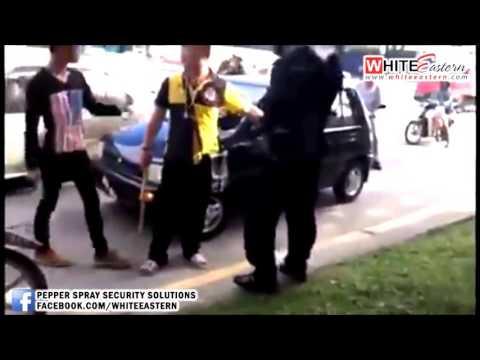 03/02/2015 Car-Pedestrian Accident & Random Road Rage, Kepong - Malaysia Crime Focus 360
