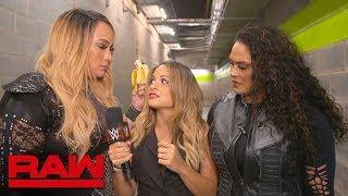 Nia Jax puts family before friends: Raw Exclusive, Nov. 5, 2018