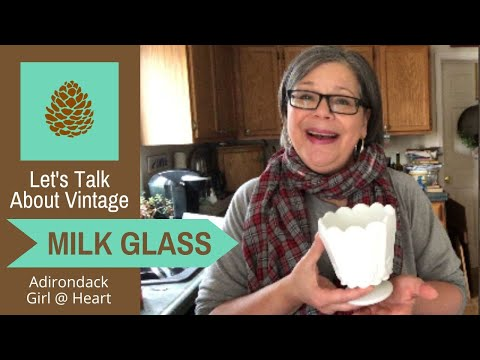 Let's Talk Milk Glass! A Guide to Collecting Vintage & Antique Milk Glass