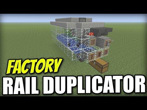 Minecraft Xbox - RAIL DUPLICATOR FACTORY [ Glitch ] Redstone Tutorial - PE / PS4 / PS3 / Switch