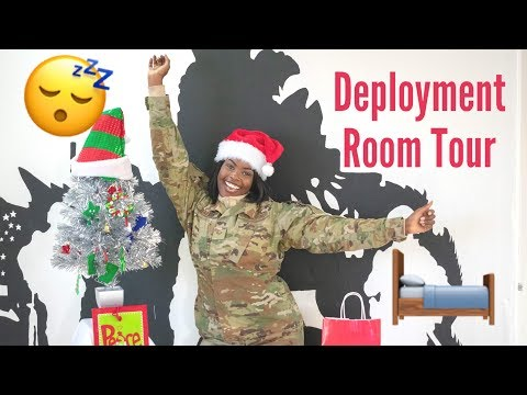 Airforce Deployment Room Tour 2019