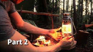 もっと森の奥でソロキャンプ『春の山菜を採って食う』後編 Overnight solo camp in deep forest