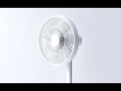 Xiaomi Smartmi Natural Wind Pedestal Fan 2 With MIJIA APP Control - Instal Setup