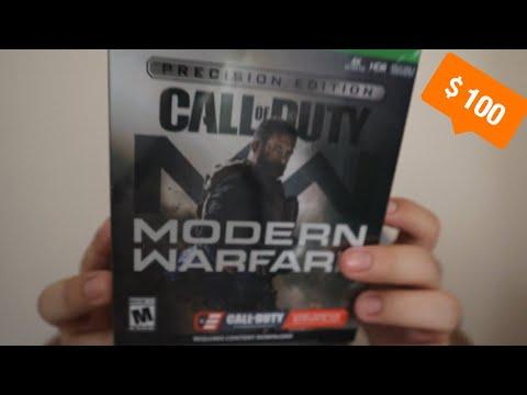 Call Of Duty Modern Warfare C.O.D.E PRECISION EDITION UNBOXING (GameStop Exclusive)