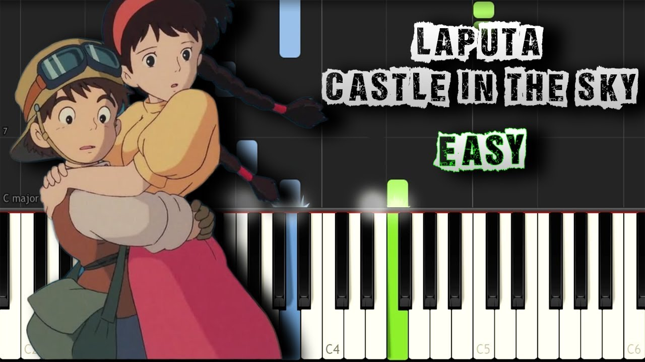 castle in the sky piano tutorial