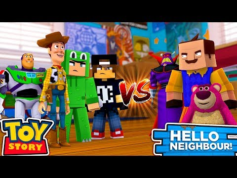 Minecraft Hello Neighbour - JACK & LITTLE LIZARDS TOYS HAVE BEEN STOLEN!!