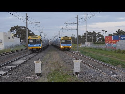 Metro EMU's at Hoppers Crossing : Australian Railways