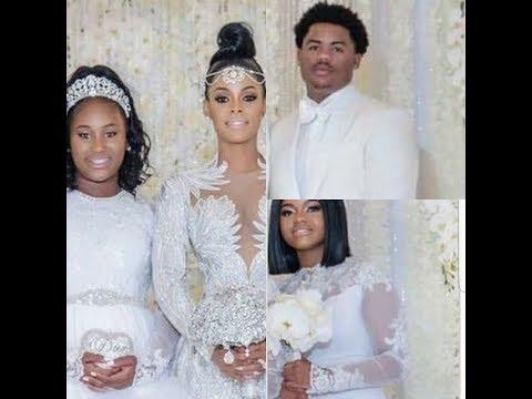 Keyshia Ka'oir Proves To The Public Her 3 Kids Came To The Wedding
