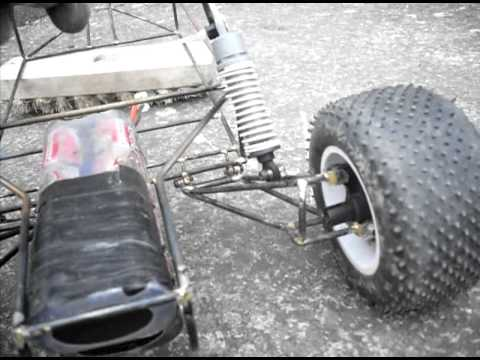 Vw Sand Rail >> SandRail - Rear arms and suspension test - YouTube