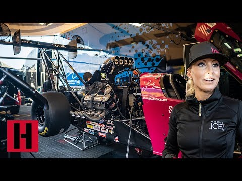 Checking in with Leah Pritchett at NHRA Winternationals