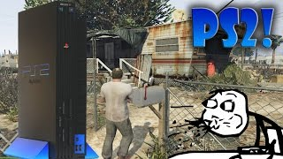 Cómo se vería GTA 5 EN PS2!!!? (Graficos al Mínimo EN PC!)