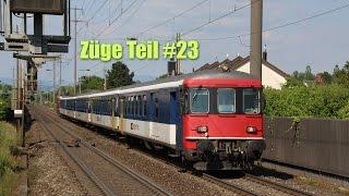 Züge Teil #23  [HD+] (Augarten und Salina Raurica)