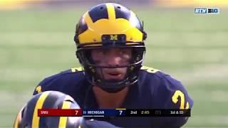 SMU at Michigan: Top 3 Plays of Second Quarter | Big Ten Football