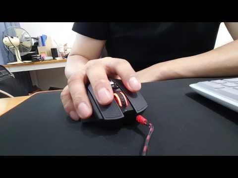 스카이디지탈 TL7A 게이밍 마우스 동영상(클릭, 버튼)