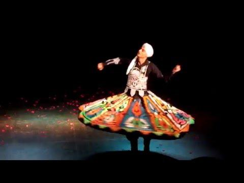 Mohamed Ghareb - Danza Sufi-Tanoura - Chile 2016