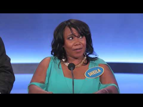"Family Feud - The worst contestant EVER on family feud ever - Sheila the ""NANA"" patterson"