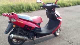 Обзор скутера  Motoland R5 .