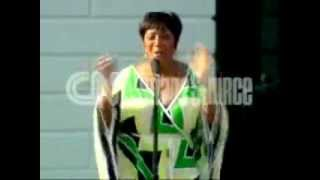 Patti Labelle- Wind Beneath My Wings at White House