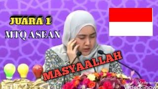 JUARA 1 TILAWAH PUTRI MTQ ASEAN DI BRUNEI DARUSSALAM #MERDU