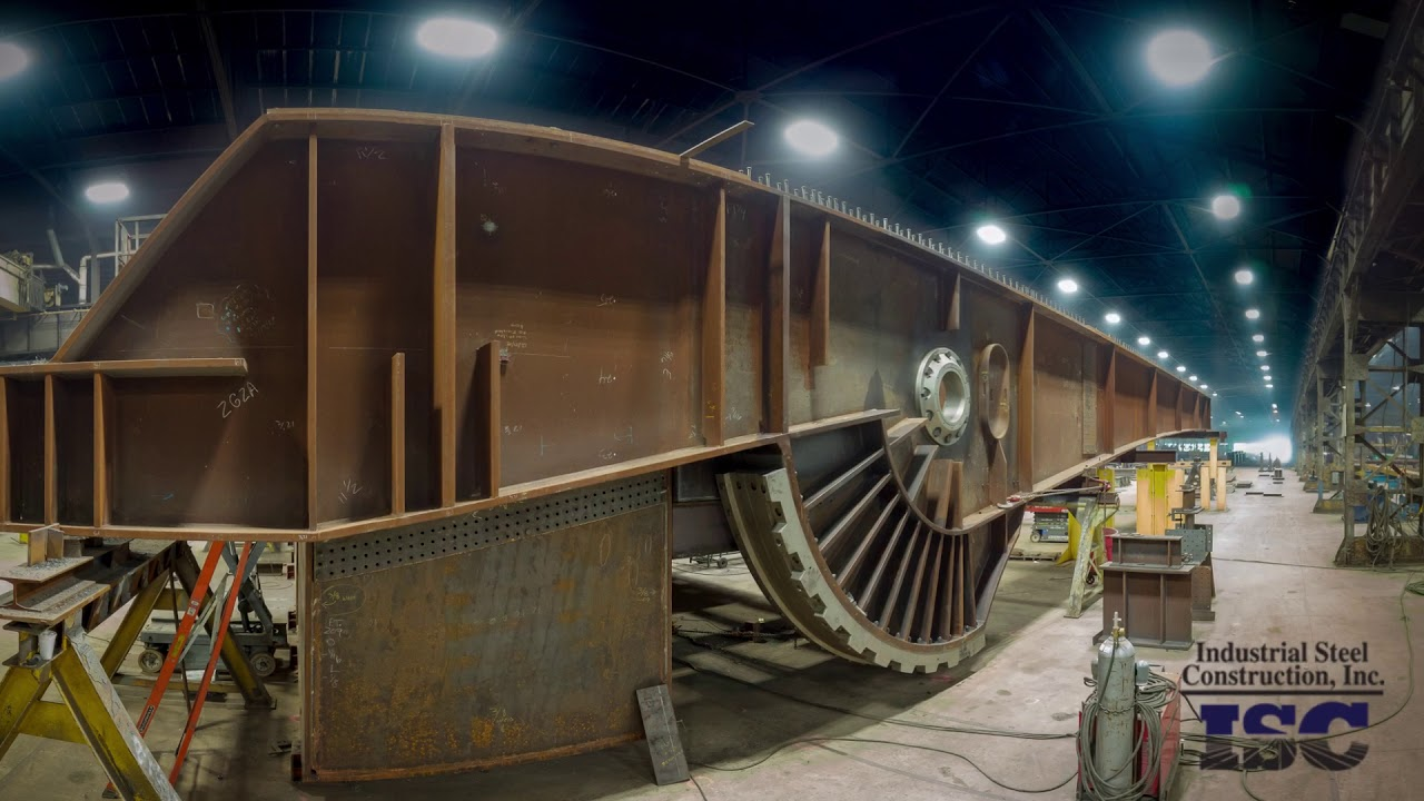 Industrial fabrication road trains