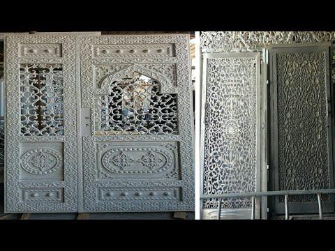 नया दरवाजा डिजाइन।    New modern nice door design.