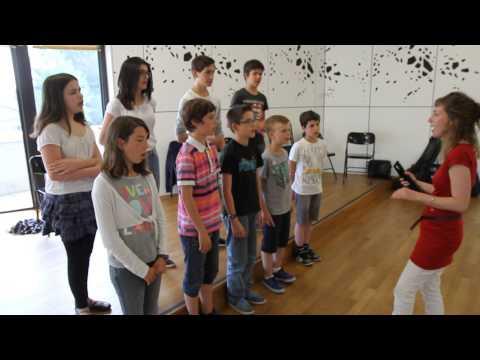Gospel géant : les élèves de l'école de musique