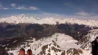 Paragliding. Школа Шеленкова, Франция, Лезарк, 2015(Один полет для удовольствия., 2015-07-14T08:14:35.000Z)