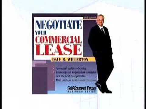 How To Negotiate The Best Commercial Lease Agreement Youtube