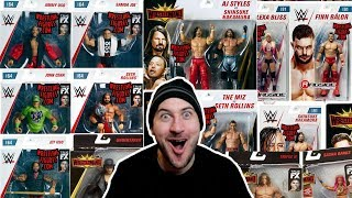MORE New WWE Mattel Action Figure News - New Figure Info & Images - Sept 2018
