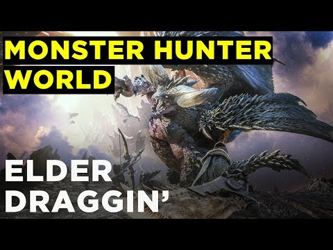 Hunting Elder Dragons with Griffin and Pat — MONSTER HUNTER: WORLD