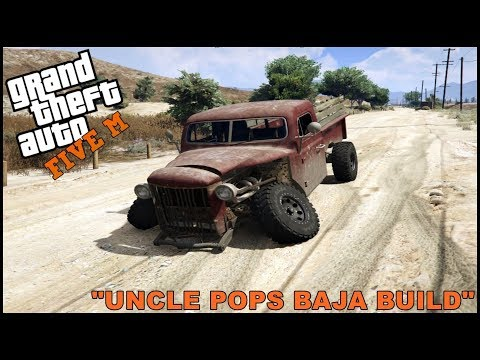 GTA 5 ROLEPLAY - BUDGET BAJA OFFROAD TRUCK BUILD  - EP. 326 - CIV
