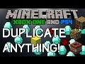 DUPLICATION GLITCH For Minecraft Xbox One & PS4! How To Duplicate Solo! (Tutorial)