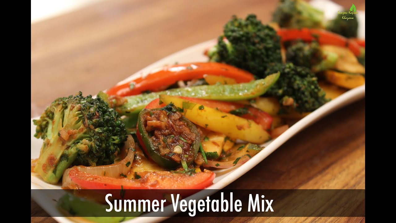 Summer vegetable mix sanjeev kapoor khazana youtube summer vegetable mix sanjeev kapoor khazana forumfinder Images