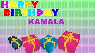 Kamala - Card Tarjeta_857 - Happy Birthday