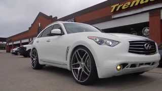 TRENDSETTER BOYZ in is FX Infiniti on DIECI-C 24 inch Forgiatos