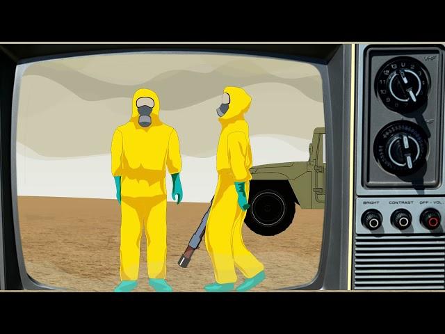Земля 2047. Анимационный фильм. Автор - Досанов Темирлан