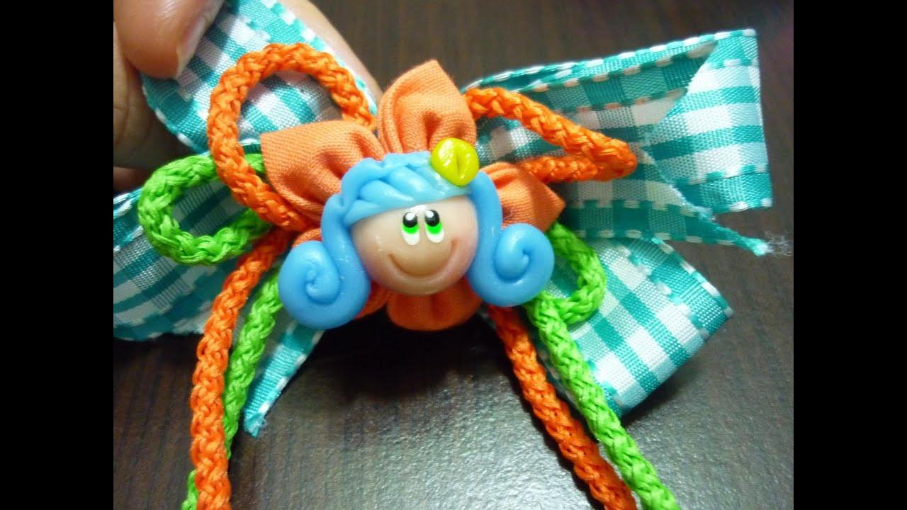Como hacer mo os con cordones de zapatos how to make bows - Manualidades con lazos ...