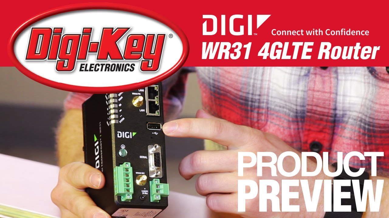 Digi International 4g Lte Router Another Geek Moment Digikey Electrical Schematic Youtube
