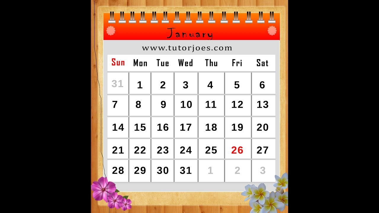 How to Create A Calendar In Photoshop CS3 In Tamil Part III - YouTube