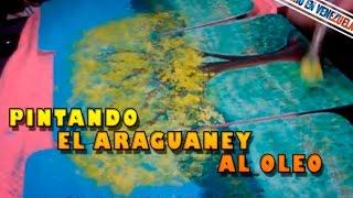 Pintando El Araguaney al Oleo / Mi Primera Vez