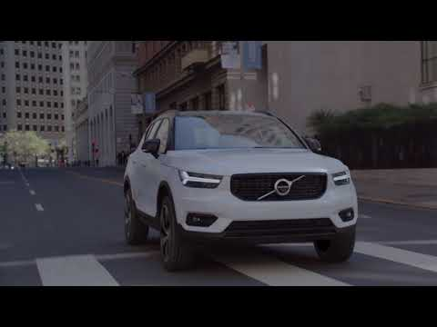 New Volvo XC40 Driving Video