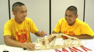 Summer Camp 2014 - ESL Science - Bridge Building