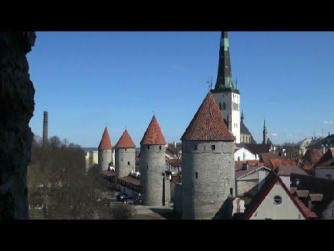 Крепостные стены Таллина.