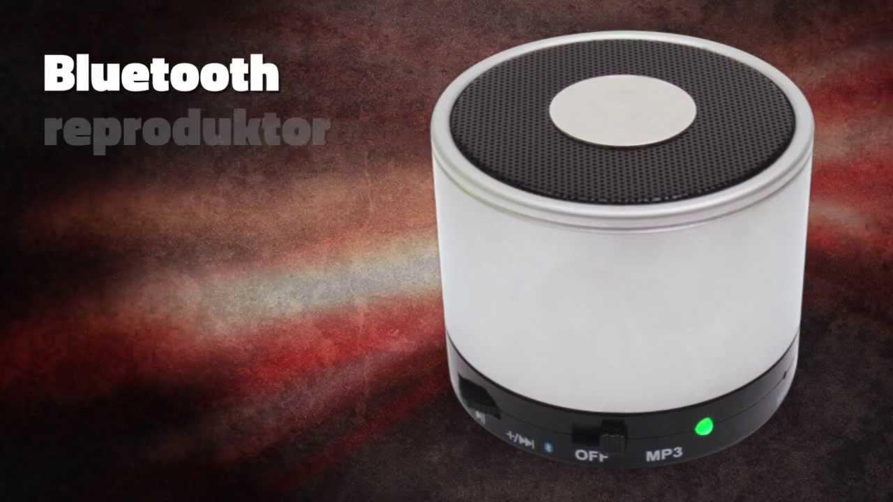 Bluetooth Reproduktor S Mp3 Přehr 225 Vačem Youtube